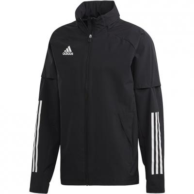 Jacheta Adidas Condivo 20 Allweather negru EA2507