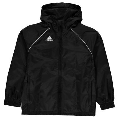 Jacheta adidas Core 18 ploaie negru