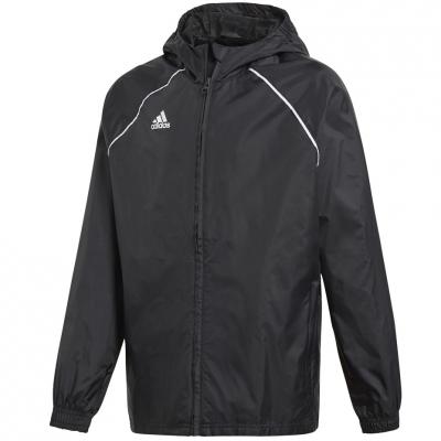 Jacheta adidas Core 18 ploaie negru CE9047 copii