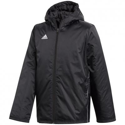 Jacheta adidas CORE 18 Stadium negru CE9058 copii