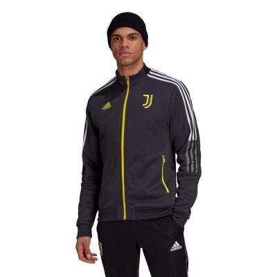 Jacheta adidas Juventus Anthem 2021 2022 gri carbon