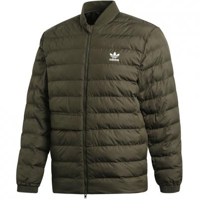 Jacheta Adidas SST Outdoor verde DJ3193 pentru barbati