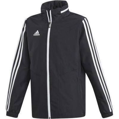Jacheta Adidas Tiro 19 All Weather negru D95941 copii copii