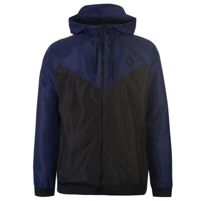 Jacheta Airwalk Windbreak pentru Barbati negru bleumarin
