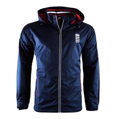Jacheta Anglia Cricket ploaie pentru Femei bleumarin