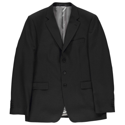 Jacheta Jonathon Charles Arden Mix Suit pentru Barbati negru