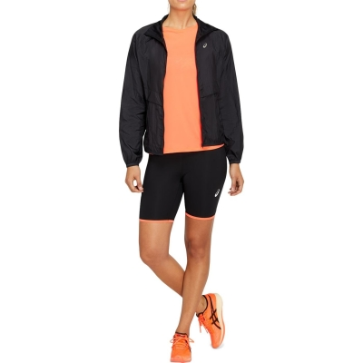 Jacheta Asics Futo Tokyo pentru Femei negru rosu
