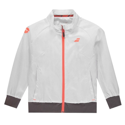 Jacheta Babolat pentru copii alb