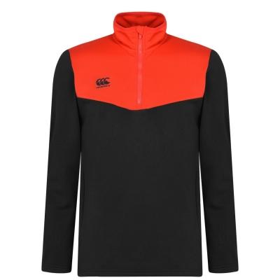 Jacheta Bluze cu fermoar Canterbury pentru Barbati negru gri