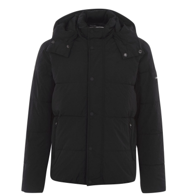 Jacheta Calvin Klein Crinkle negru