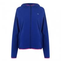 Jacheta Calvin Klein Performance Crop Logo sodalite albastru