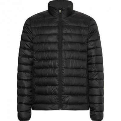 Jacheta Calvin Klein Side Logo ck negru beh