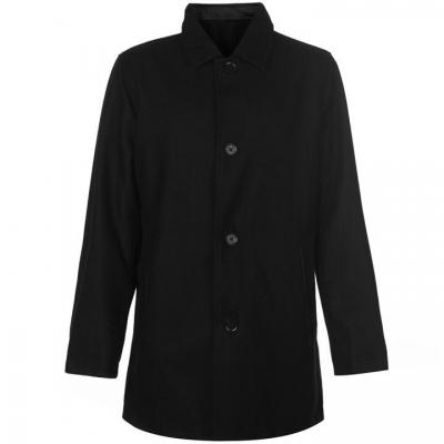 Jacheta Cole Haan cu doua fete Wool pentru Barbati negru