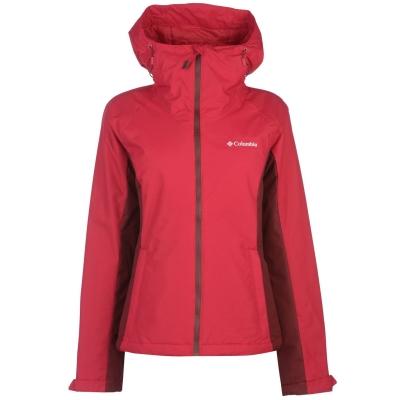 Jacheta Columbia Mossy pentru Femei rosu