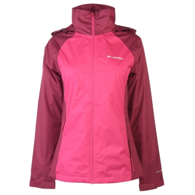 Jacheta Columbia Tapa 2L pentru Femei haute roz