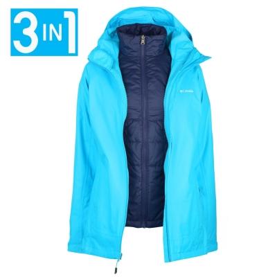 Jacheta Columbia Trail 3in1 pentru Femei albastru