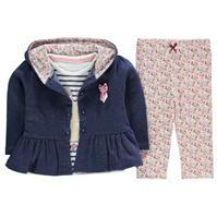 Jacheta Crafted 3 Pieces Frill Set pentru fete pentru Bebelusi