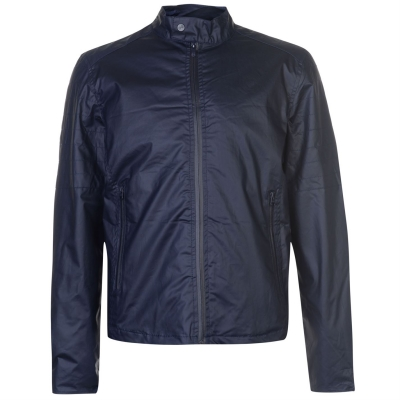 Jacheta Crosshatch Agostini pentru Barbati bleumarin albastru