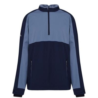 Jacheta cu Fermoar Callaway cu maneca lunga quarter albastru