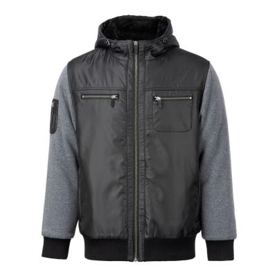 Jacheta cu Fermoar No Fear cu captuseala pentru Barbati negru