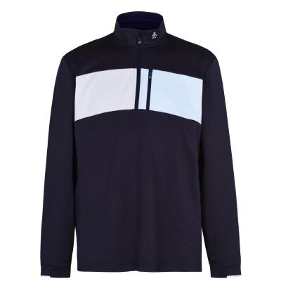 Jacheta cu Fermoar Original Penguin Block negru mov