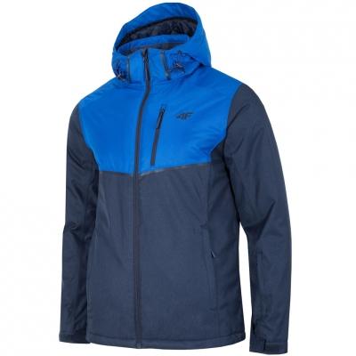 Geaca Ski barbati 4F H4Z18 KUMN003 bleumarin inchis-albastru