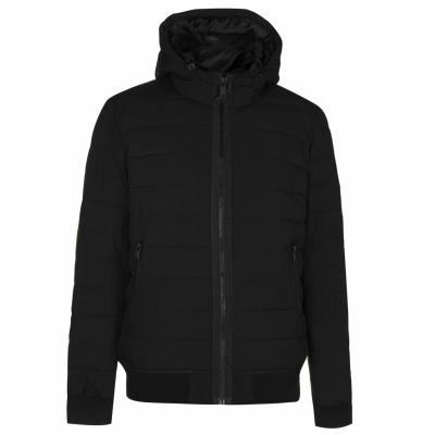 Jacheta DKNY Quilted Bomber negru