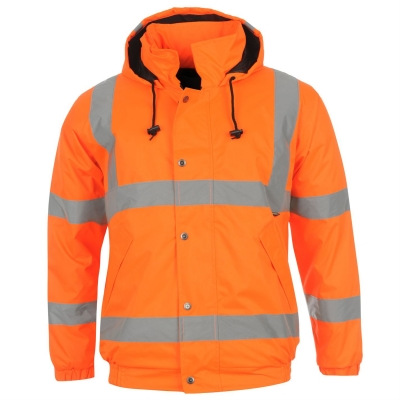 Jacheta Dunlop reflectorizant Bomber pentru Barbati portocaliu
