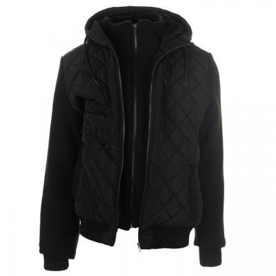 Jacheta Firetrap Sartorial tricot pentru Barbati negru