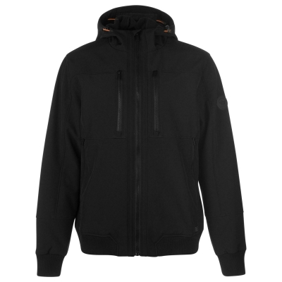 Jacheta Firetrap Softshell pentru Barbati negru