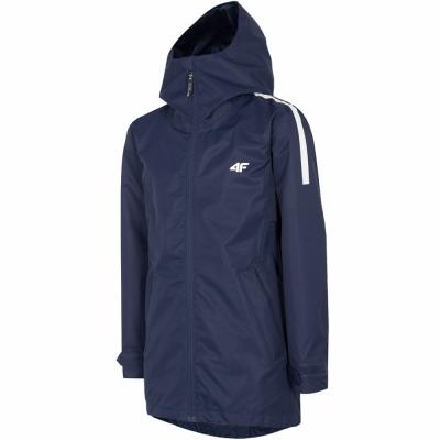 Jacheta For 4F bleumarin HJL20 JKUD002 31S pentru fete