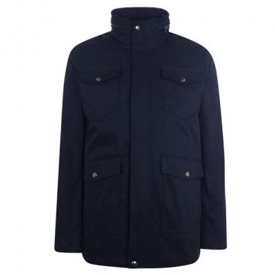 Jacheta Gant 4 cu buzunar bleumarin