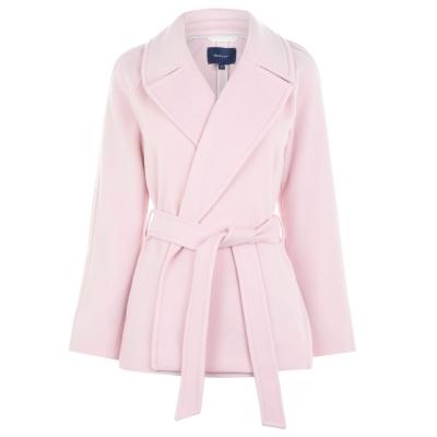 Jacheta Gant Gant Wool Wrap argintiu roz