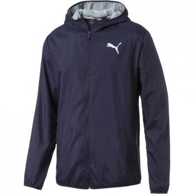 Jacheta Geaca pentru vant barbati Puma Solid bleumarin 854054 06