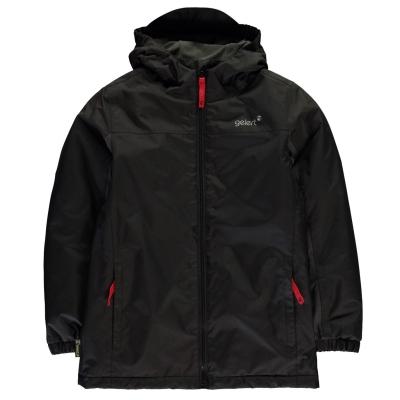 Jacheta Gelert Horizon cu captuseala pentru fetite negru