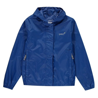 Jacheta Gelert Packaway Juniors albastru roial