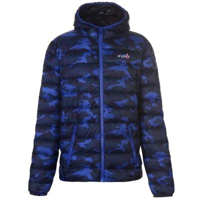 Jacheta IFlow Camo Series pentru Barbati albastru camuflaj