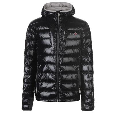 Jacheta IFlow Diamond pentru Barbati negru argintiu