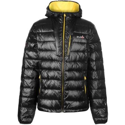 Jacheta IFlow Peak Mountain pentru Barbati negru galben