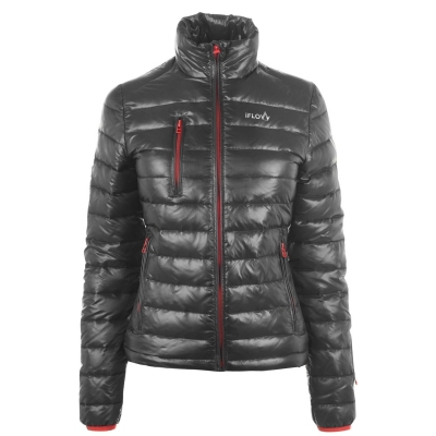 Jacheta IFlow Superlight pentru Femei gri rosu