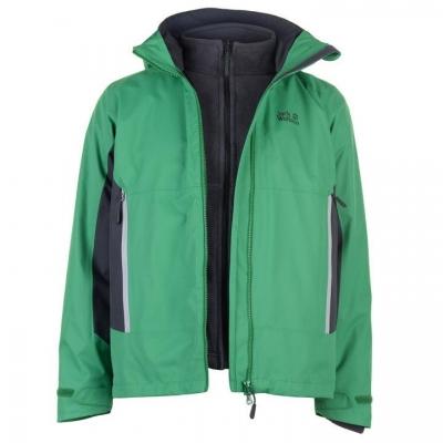 Jacheta Jack Wolfskin North Border pentru Barbati verde
