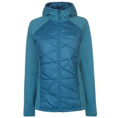 Jacheta Jack Wolfskin Skyland Hybrid pentru Femei albastru