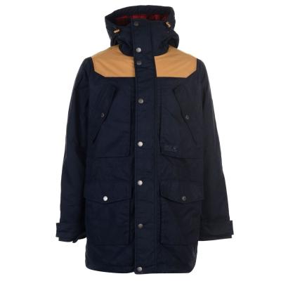 Jacheta parka Jack Wolfskin Williams pentru Barbati albastru inchis