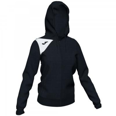 Jacheta Joma cu gluga Spike II negru-alb pentru Femei