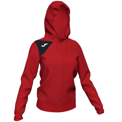 Jacheta Joma cu gluga Spike II rosu-negru pentru Femei