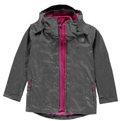 Jacheta Karrimor 3 in 1 pentru copii gri