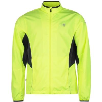 Jacheta Karrimor alergare pentru Barbati fosforescent galben