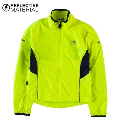 Jacheta Karrimor alergare pentru copii fosforescent galben
