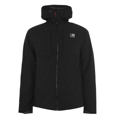 Jacheta Karrimor Alpiniste Soft Shell pentru Barbati negru