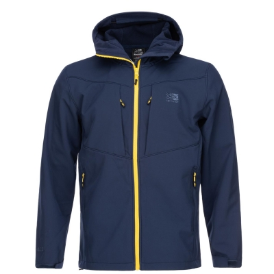 Jacheta Karrimor Alpiniste Soft Shell pentru Barbati bleumarin